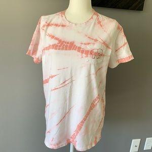 Ivory Ella Tie Dye T Shirt Size Medium